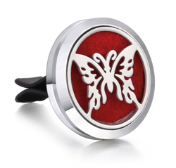 Car Air Diffuser, Freshener - Essential Oil Diffuser - Butterfly