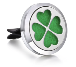 Car Air Diffuser, Freshener - Essential Oil Diffuser - Clover
