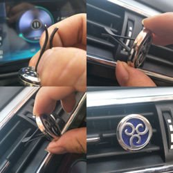 Car Air Diffuser, Freshener - Essential Oil Diffuser - Waves